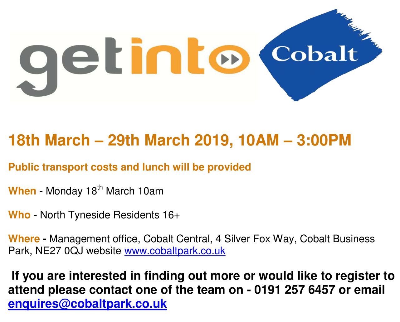 Get Into Cobalt