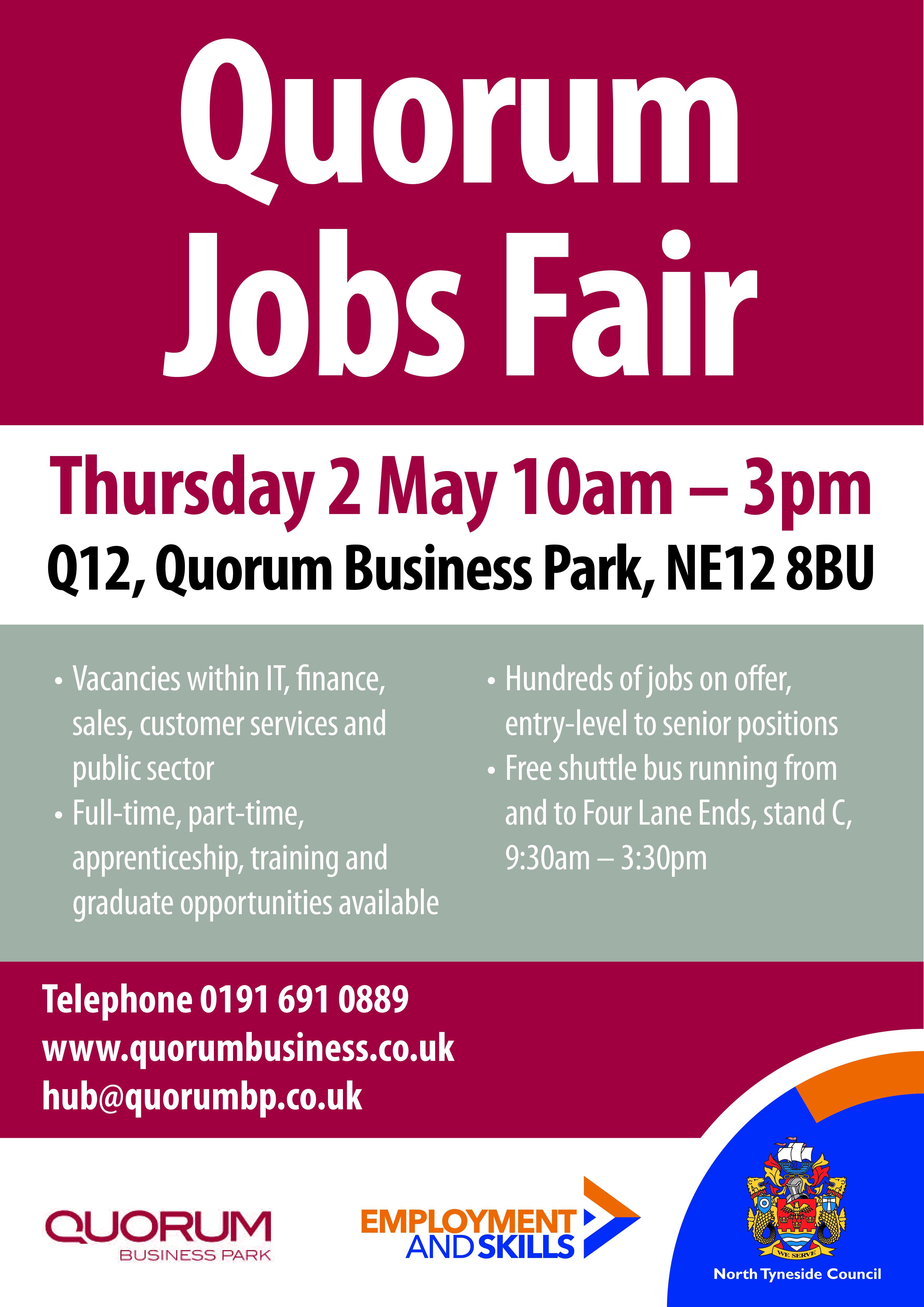 Quorum Jobs Fair 2019