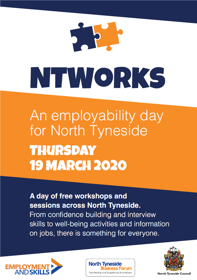 #NTWorks Employability Day for North Tyneside